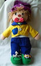 Vintage old clown toy doll rabbit hat cute figure