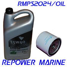 Marine Oil & Filter for Volvo Penta 2001,2002, 2003, MD1, MD2, MD3, VDS-2, VDS-3