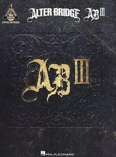 Alter Bridge AB III Learn to Play Metal Rock ISOLATION Guitar TAB Music Book