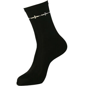 ScubaMax Lycra Socks Skin Scuba Diving Snorkeling Booties SO-01-K Black