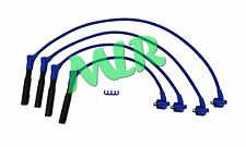 BLUE 10MM 4 CORE SILICONE IGNITION HT LEADS ESCORT XR3i FIESTA RS TURBO XR2i CQ
