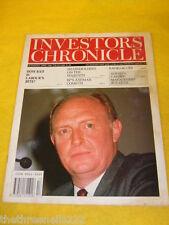 INVESTORS CHRONICLE - NEIL KINNOCK - MARCH 30 1990