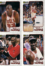 1998 Collector's Choice Michael Jordan REWIND REDEMPTION #9-12 BV$16!  4 cards!!