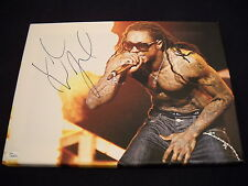 Lil Wayne Autographed 12x18 Canvas YMCMB Young Money/ JSA
