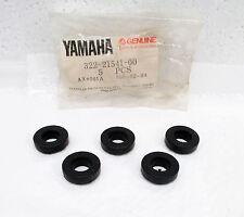 (5) Genuine Yamaha 73-81 SC500 TT500 XT500 OEM Rubber Fender Dampers Grommets