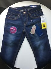 Girls Capri Jeans Size 8 New With Tags By Vigoss