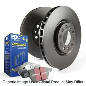 EBC S20K1166 Front and Rear S20 Kits Ultimax & Plain Rotors For Land Cruiser NEW
