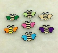 7 style / set Embroidered beetle Patches Badge Iron on Applique Patch Craft DIY
