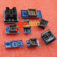 8 Programmer Adapters Sockets Kit for TL866CS TL866A EZP2010 with Extractor L1ST
