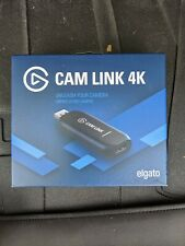 Elgato Cam Link 4k HDMI Device Live Stream Record HD Camlink NEW In Hand