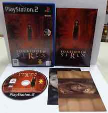 Console Game SONY Playstation 2 PS2 PAL ITALIANO FORBIDDEN SIREN + 2 Cartoline
