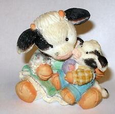 Mary's Moo Moos Figurines - Enesco - 1994 - An Eggspression of Love