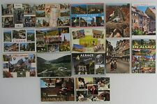 15x ELSASS Alsace Frankreich France Postcards Lot Postkarten gelaufen gebraucht