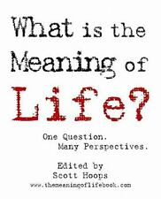 What Is the Meaning of Life? : One Question. Many Perspectives by Scott Hoops...