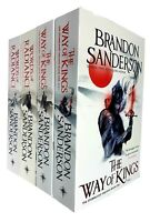 Brandon Sanderson The Stormlight Archive Series 4 Books Collection Set Fantasy B
