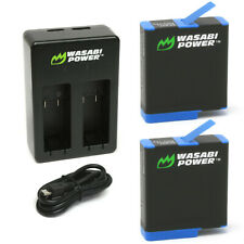 Wasabi Power Battery (2-Pack) and Dual Charger for GoPro HERO8 Black