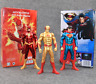 Flash Action Figure Superman Kids Toys DC Comics Superhero Models Red Gold New
