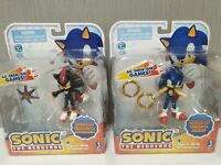 Set of 2 Figures Jazwares Sonic (with Rings +with Doom's Eye) NEW Original RARE