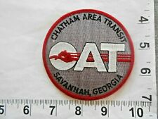 Usa Savannah Georgia Ga Chatham Area Transit Cat Patch Free shipping
