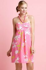 NWT $198 Lilly Pulitzer BETSEY Twirlers DRESS Sz 0 XS Strapless SALE! 80% OFF!