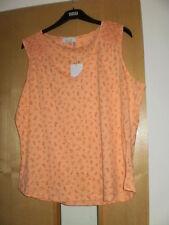 M & S Per Una Pure Cotton Vest Top Size 18 BNWT