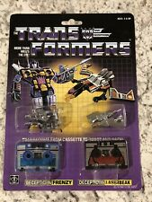 Transformer Vintage G1 Zhong Jin KO 2-Pack Decepticons Frenzy and Laserbeak