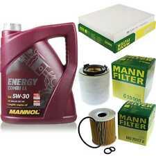 Inspektionspaket 5L MANNOL Energy CombiLL 5W30 Motoröl + MANN Filterset 10768107