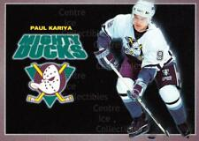 1994-95 Anaheim Mighty Ducks Carls Jr. #10 Paul Kariya