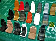 Lot of 107 Misc. Vintage Single Bucket Seats - 1/24 - 1/25 Sale - No Pairs-Loose