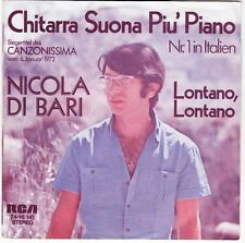 "7"" NICOLA DI BARI CHITARRA SUONA PIU 'PIANO (N. 1 Hit Italia) 70`s RCA"