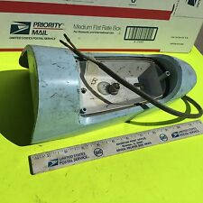 Studebaker 1955 sedan, left, tail light, USED and as removed.     Item:  4870