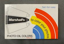 Marshall's Oil Colors ( BRAND NEW OLD STOCK ) Never Used