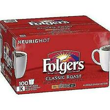 Folgers Classic Roast Regular Coffee k cups  96 k cup New