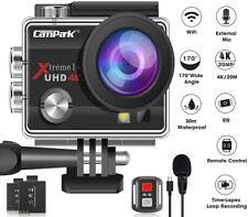 Campark 4K HD 20MP 1080P Waterproof Sport Action Camera WiFi EIS Video as Go Pro