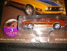 Johnny Lightning 73 Mustang Mach 3 1:64 scale diecast model car new on blister