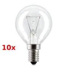 10x GE Tropfen-Glühlampe 25W E14 927 Clear Warm White Dimmable Bulbs Lightbulb
