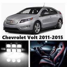 10pcs LED Xenon White Light Interior Package Kit for Chevrolet Volt 2011-2016
