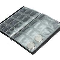 120 Coin Collection Holders Storage Money Penny Pocket Album Book Folder Hot