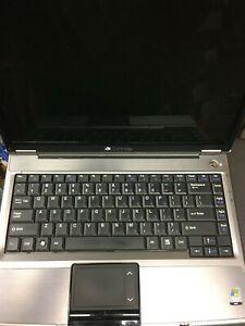 """Gateway W340UI Laptop Pentium dual-core Vista Boots up """"For Parts"""""""