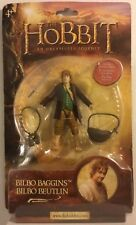 NUOVI/SIGILLATI-Lo Hobbit-Bilbo Baggins Figura (2012) venditore del Regno Unito.