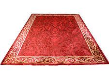 Mäander Teppich Kunst-Seide Meander Medusa Möbel Carpet Rot 100x140 cm versac