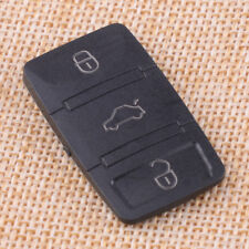 Remote Key 3 Button Rubber Pad For VW Skoda Octavia Seat Leon Flip Key Case