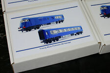 Storage Boxes for Triang Pullman Blue Coaches and Power Car OO Gauge acid free