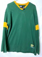 2000 NFLP Mens Green Bay Packers Team Apparel Long Sleeve Shirt Size XL