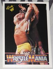 The Ultimate Warrior & Rick Rude 1990 Classic Wrestlemania V 5 WWF Card #110 WWE