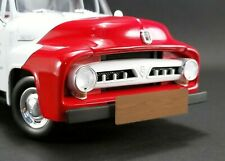 Ford 1953 F-100 So-Cal Speed Shop Push Truck Red/White Acme 1.18 scale Diecast