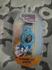 Sonic The Hedgehog Sega Collector's Edition LCD Watch Brand New Sealed