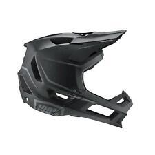 100% MTB Helmet Trajecta Black Mountain Bike Downhill DH BMX Full Face
