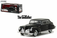 The Godfather 1941 Lincoln Continental Diecast Car 1:43 Greenlight 5 inch 86507