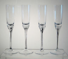 """EXQUISITE BOHEMIA BELFOR Tall Liqueur Cordial 7 5/8"""" SET OF 4, Multiples Avail"""